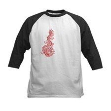 Chinese Red Dragon Graphic Tee