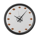 World's Biggest Football Fan Large Wall Clock