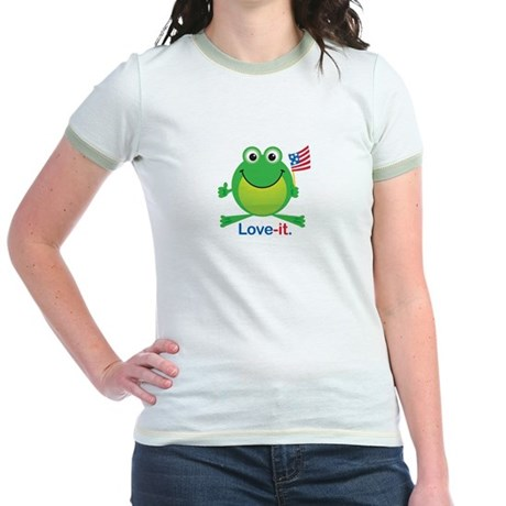 Love-it Frog Jr. Ringer T-Shirt
