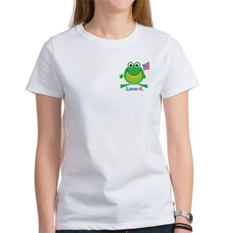 Love-it Frog Women's T-Shirt