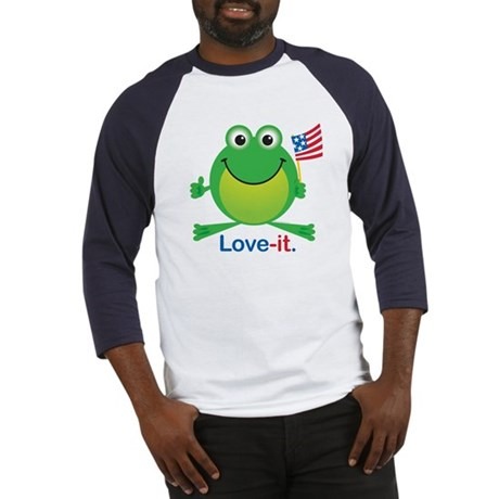 Love-it Frog Baseball Jersey