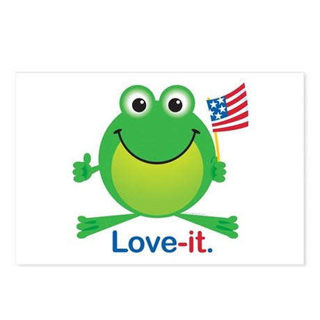 Love-it Frog Postcards (Package of 8)