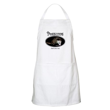 Possums Need Love Too BBQ Apron