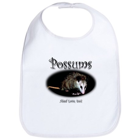 Possums Need Love Too Bib