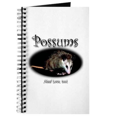 Possums Need Love Too Journal