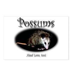 Possums Need Love Too Postcards (Package of 8)