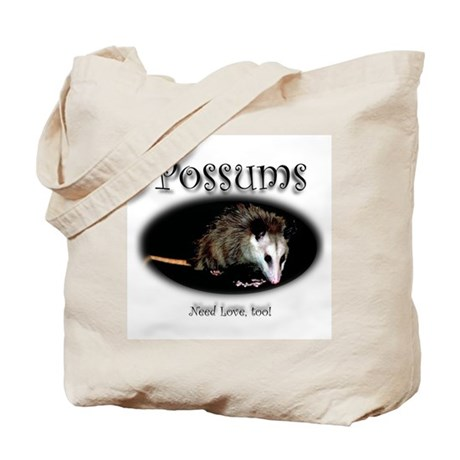 Possums Need Love Too Tote Bag