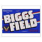 Biggs Field Texas Small Poster