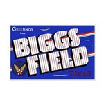 Biggs Field Texas Mini Poster Print