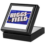 Biggs Field Texas Keepsake Box