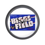 Biggs Field Texas Wall Clock