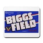 Biggs Field Texas Mousepad