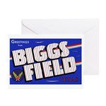 Biggs Field Texas Greeting Cards (Pk of 10)