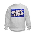Biggs Field Texas (Front) Kids Sweatshirt
