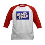 Biggs Field Texas (Front) Kids Baseball Jersey