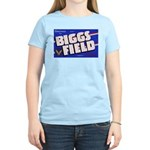 Biggs Field Texas (Front) Women's Pink T-Shirt
