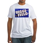 Biggs Field Texas (Front) Fitted T-Shirt