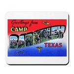 Camp Barkeley Texas Mousepad