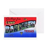 Camp Barkeley Texas Greeting Cards (Pk of 10)
