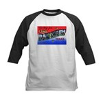Camp Barkeley Texas Kids Baseball Jersey