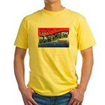 Camp Barkeley Texas Yellow T-Shirt