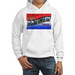Camp Barkeley Texas (Front) Hooded Sweatshirt