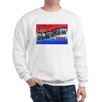 Camp Barkeley Texas (Front) Sweatshirt