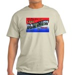 Camp Barkeley Texas (Front) Ash Grey T-Shirt