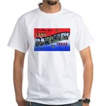 Camp Barkeley Texas (Front) White T-Shirt