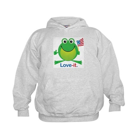 Love-it Frog Kids Hoodie