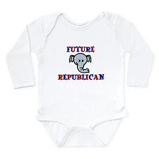 Future Republican Long Sleeve Infant Bodysuit