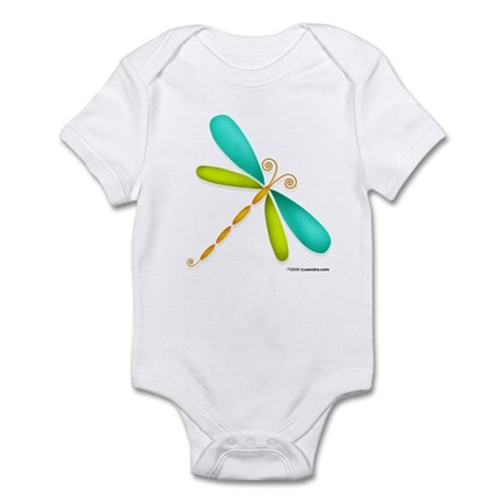 Colorful Dragonfly Infant Creeper