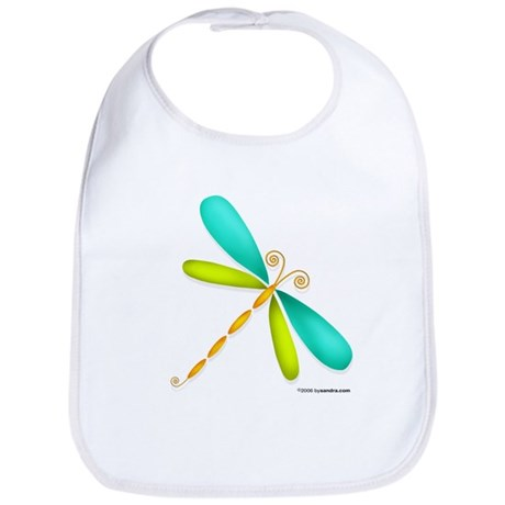 Colorful Dragonfly Bib