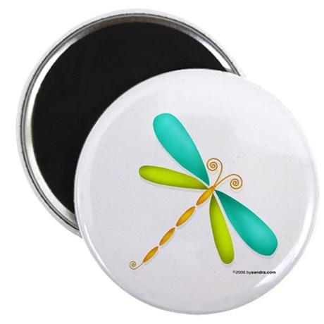 Colorful Dragonfly Magnet