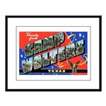 Camp Wolters Texas Large Framed Print