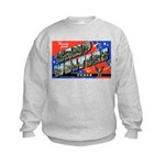 Camp Wolters Texas (Front) Kids Sweatshirt