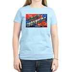 Camp Wolters Texas Women's Pink T-Shirt