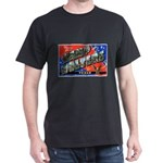 Camp Wolters Texas (Front) Black T-Shirt