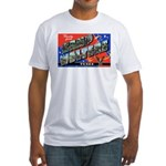 Camp Wolters Texas (Front) Fitted T-Shirt