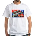 Camp Wolters Texas (Front) White T-Shirt