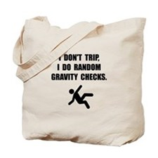 Gravity Checks Tote Bag