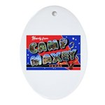 Camp Maxey Texas Oval Ornament