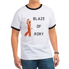 Blaze of Rory Golf T-Shirt