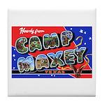 Camp Maxey Texas Tile Coaster