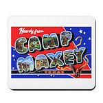 Camp Maxey Texas Mousepad