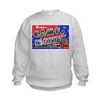 Camp Maxey Texas Kids Sweatshirt