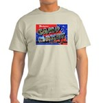 Camp Maxey Texas (Front) Ash Grey T-Shirt
