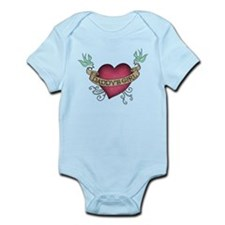Daddys Girl Heart Body Suit