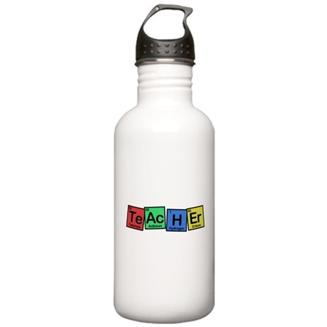 Teacher made of Elements colors Stainless Water Bo