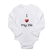 Cute Zia Long Sleeve Infant Bodysuit